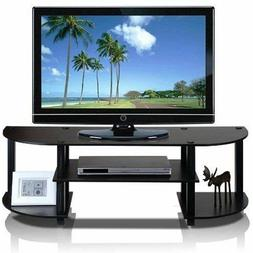 Furinno Wide TV Entertainment Center  TV Stand Display Unit