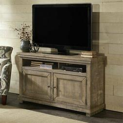 """Progressive Willow 54"""" TV Stand in Weathered Gray"""