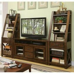 Riverside Furniture Windridge TV Console in Sagamore Burnish