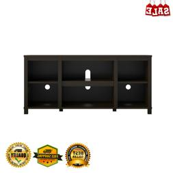 Wooden Entertainment DVD Game Console Open Shelf Media Cente