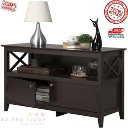 Wooden TV Stand Cabinet Mount Media Center Shelf Entertainme
