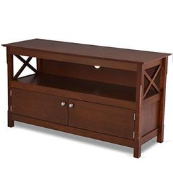 "AyaMastro Wooden 44"" TV Stand Console Storage Cabinet Media"