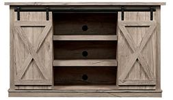 Comfort Smart Wrangler Sliding Barn Door TV Stand, Ashland P
