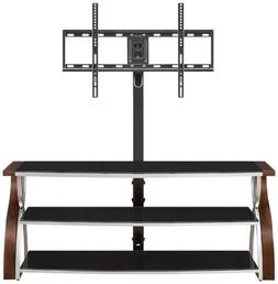 Whalen Furniture XLEC54-NV 3-in-1 Flat Panel TV Stand and En